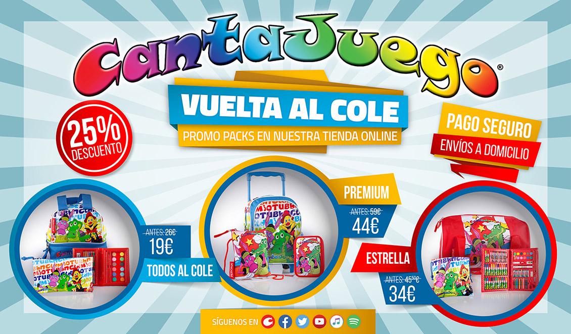 Tienda CantaJuego - Vuelta al Cole