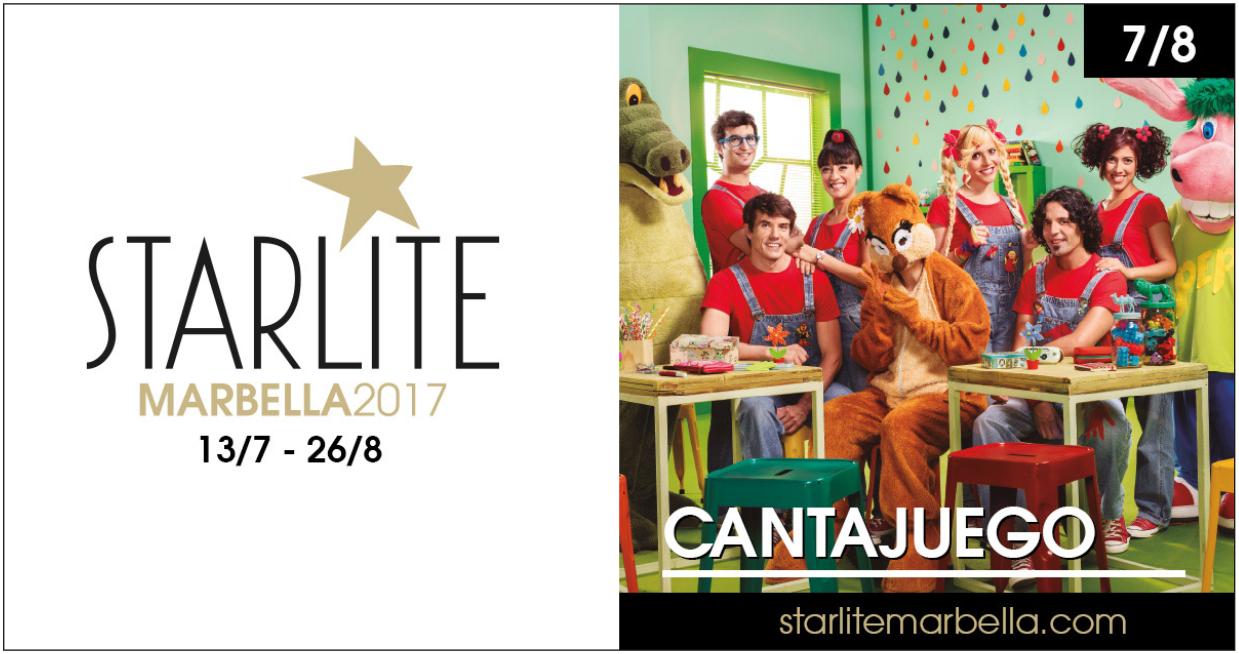 CantaJuego en Starlite Marbella