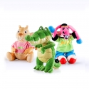 PACK Peluches Medianos: Coco, Burrito Pepe y Buby