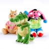 PACK Peluche Coco, Burrito Pepe y Buby