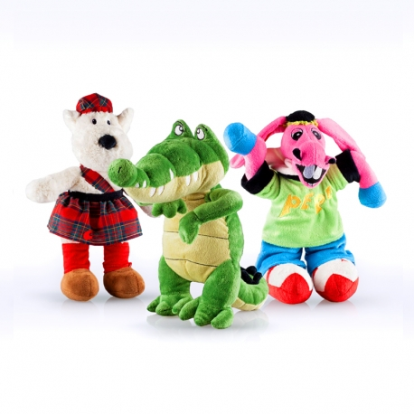 PACK Peluche Coco, Burrito Pepe y Scotty