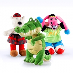 PACK Peluches Grandes: Coco, Burrito Pepe y Scotty Mc Hueso