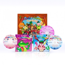 Pack Libros con CDs + DVD