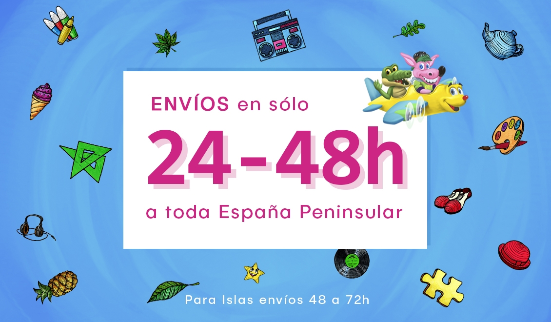 ENVIO en sólo 24-48h para España Peninsular
