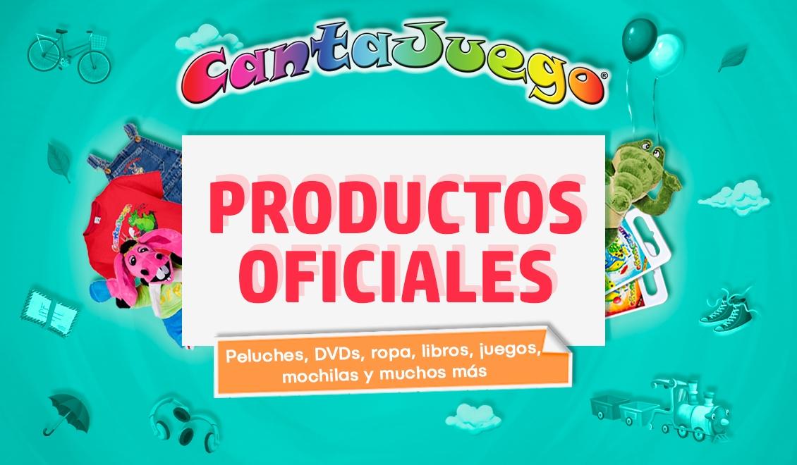 Productos OFICIALES de CantaJuego