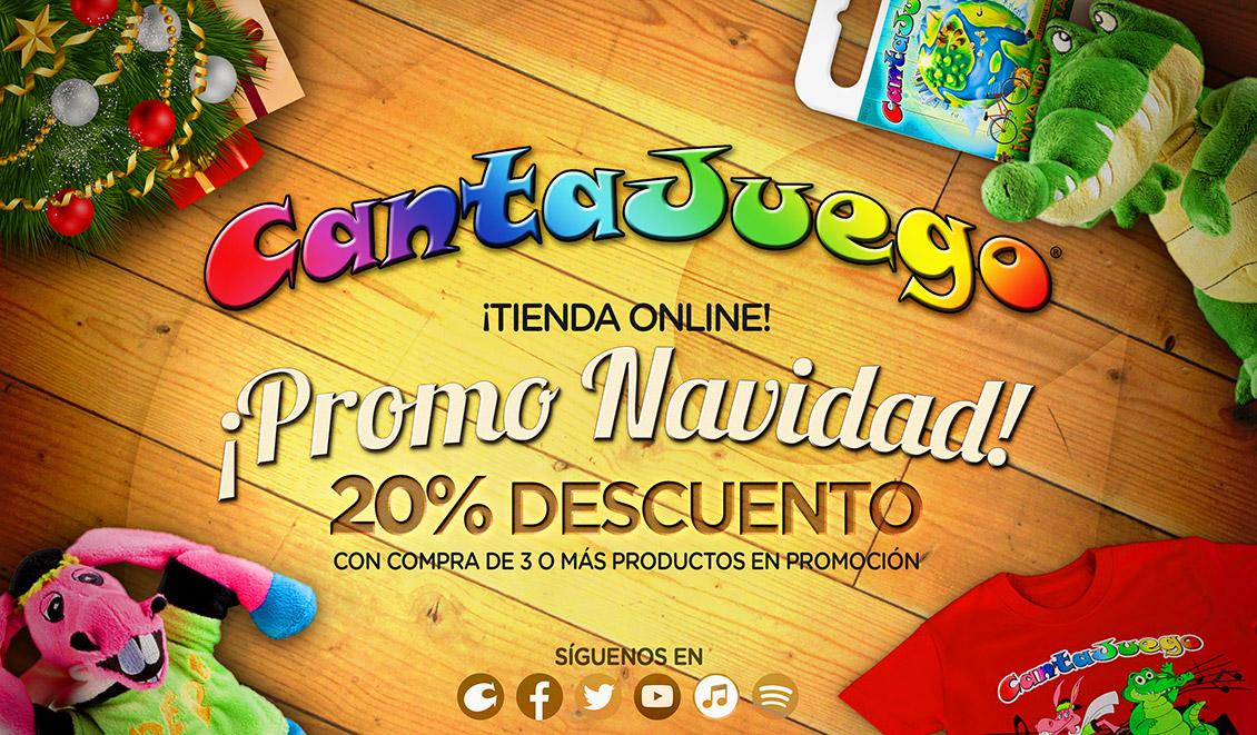 CantaJuego - Tienda online - 20% descuento Navidad