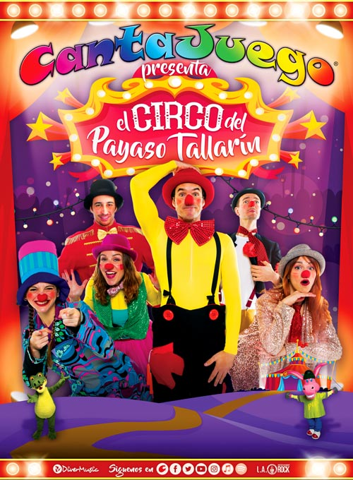 CantaJuego - El Circo del Payaso Tallarín