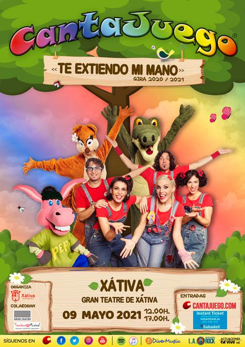 CantaJuego en Xátiva el 9 de Mayo de 2021