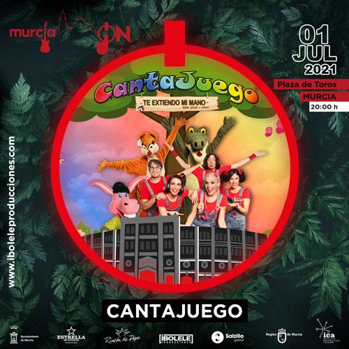 CantaJuego - Concierto en Murcia el 1 de Julio de 2021