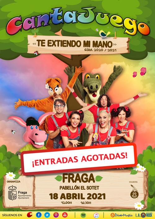 CantaJuego - Entradas agotadas en Fraga