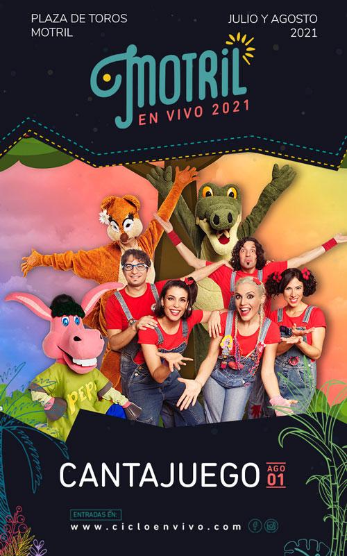 CantaJuego - Concierto en Motril