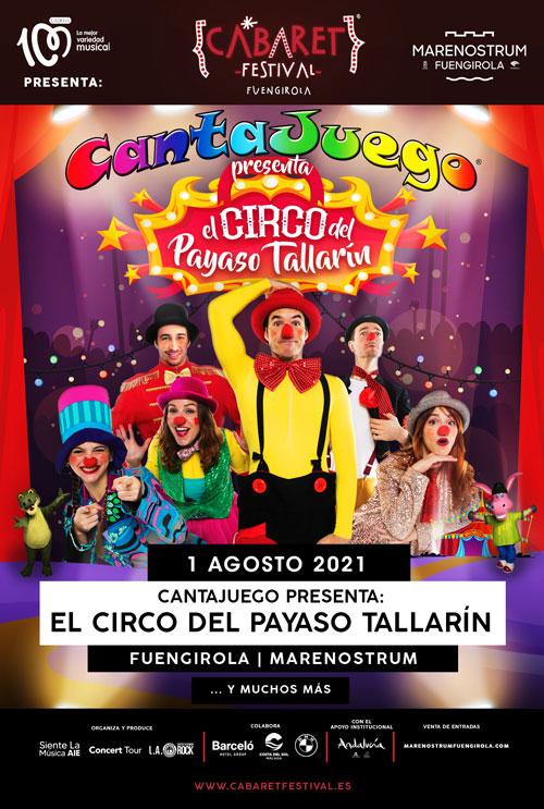 CantaJuego en Fuengirola el 1 de Agosto
