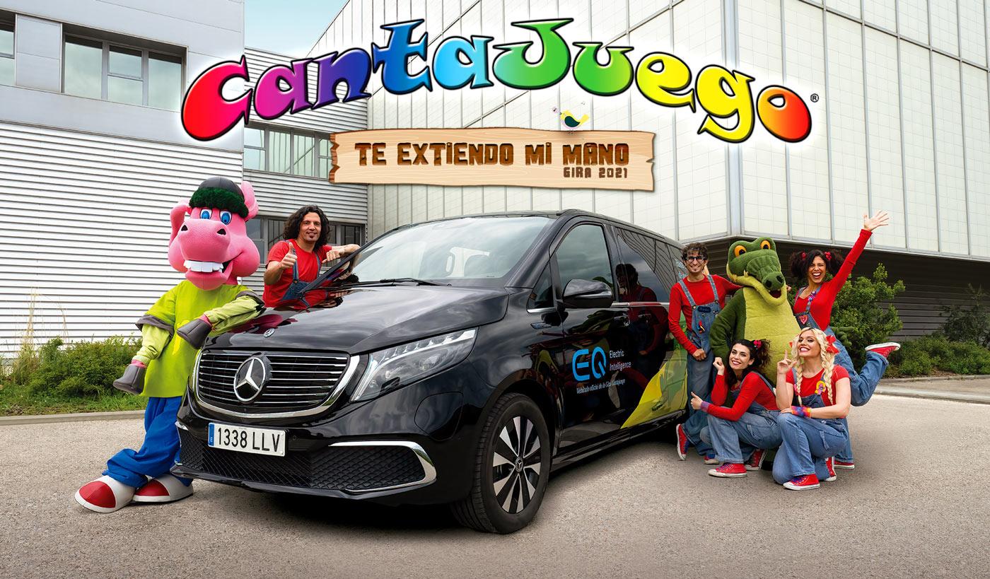 CantaJuego - Mercedes Benz
