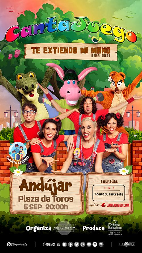 CantaJuego en Andújar el 5 de Septiembre