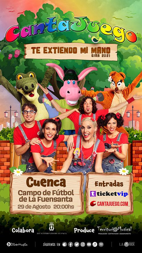 CantaJuego en Cuenca el 29 de Agosto