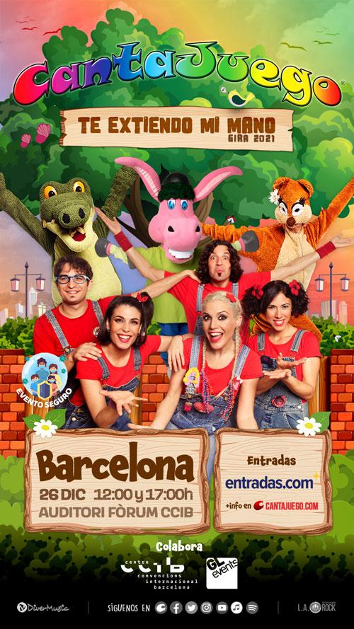 CantaJuego en Barcelona el 26 de Diciembre
