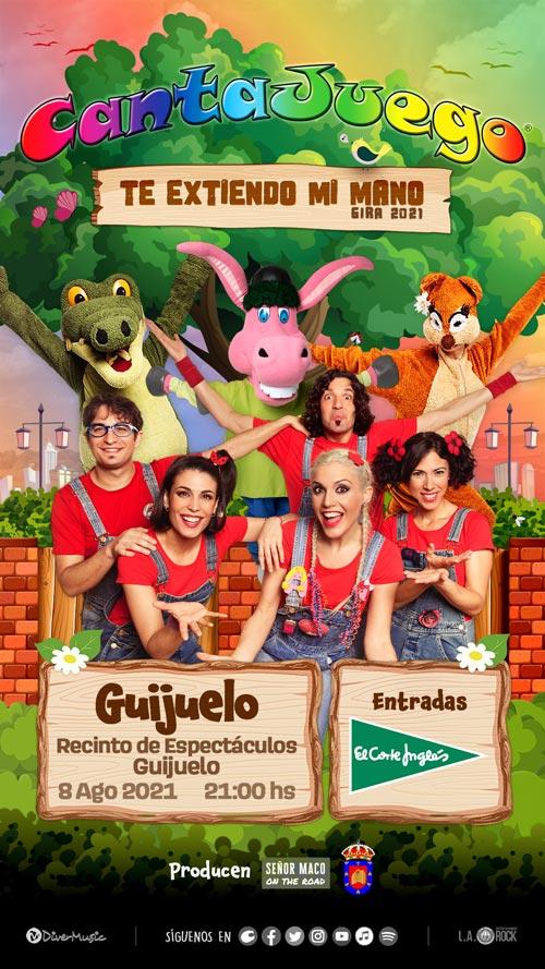 CantaJuego en Guijuelo el 8 de Agosto