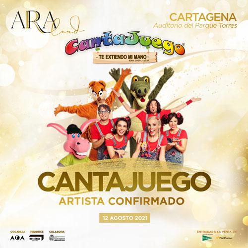 CantaJuego en Cartagena el 12 de Agosto de 2021