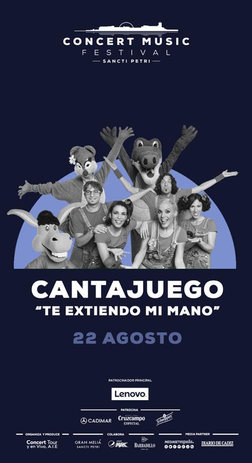 CantaJuego en Chiclana de la Frontera el 22 de Agosto