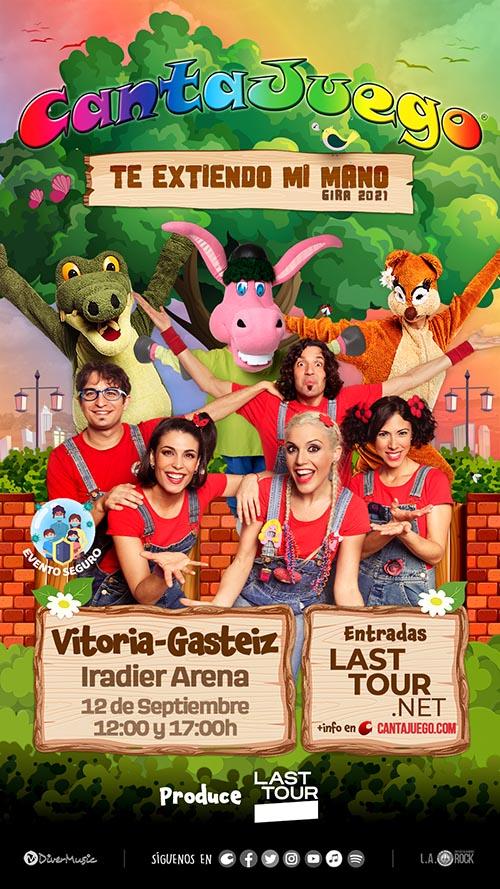 CantaJuego en Vitoria-Gasteiz el 12 de Septiembre