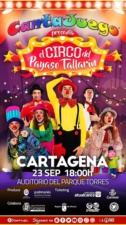 El Circo del Payaso Tallarín en Cartagena