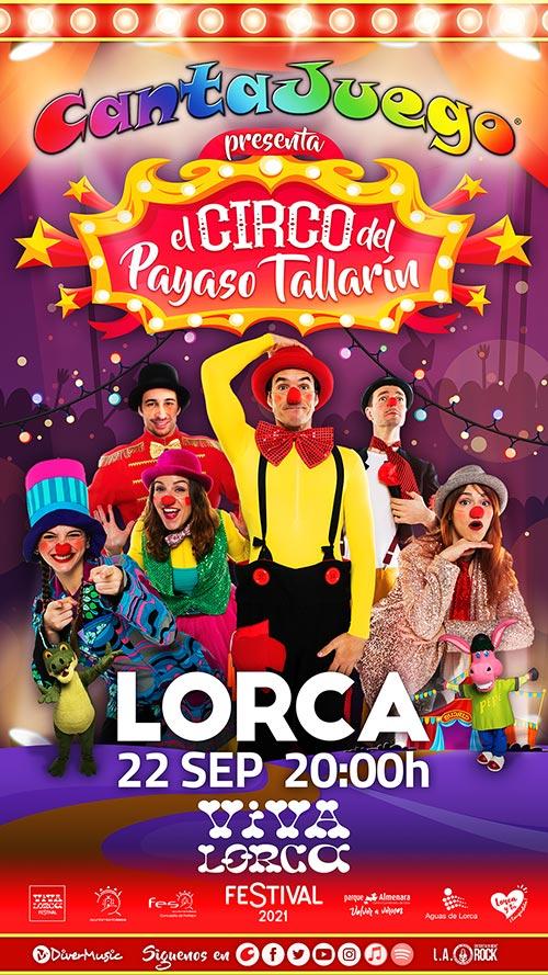 El Circo del Payaso Tallarín en Lorca
