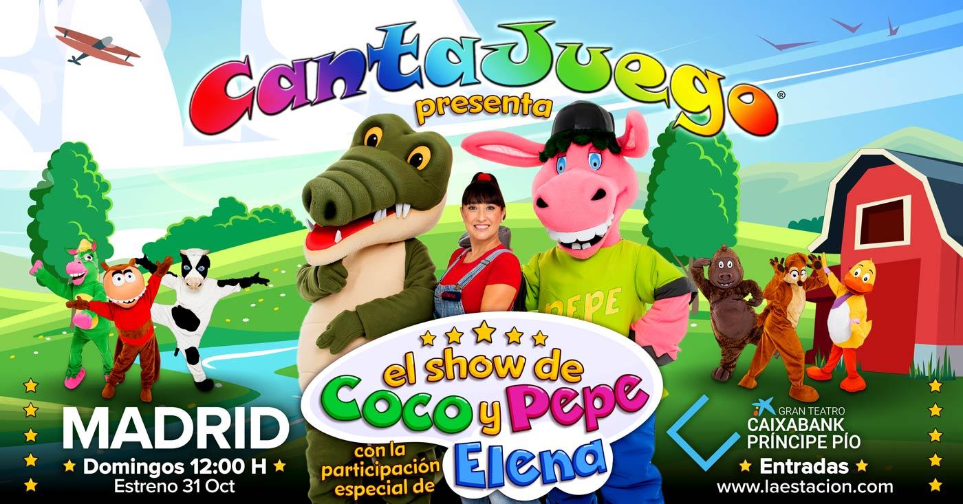 CantaJuego - El Show de Coco y Pepe