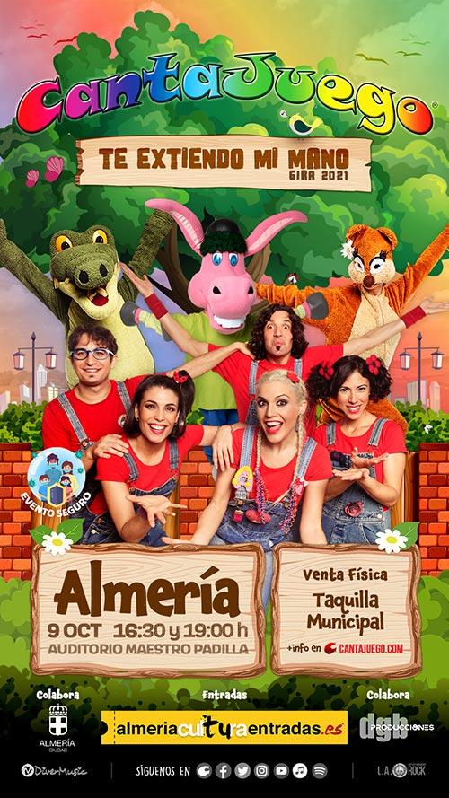 CantaJuego en Almería el 9 de Octubre