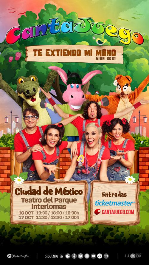 CantaJuego en México el 16 y 17 Octubre