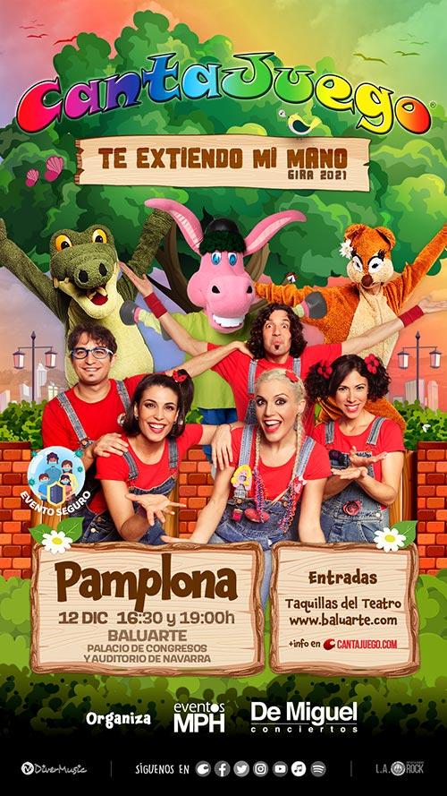 CantaJuego en Pamplona el 12 de Diciembre