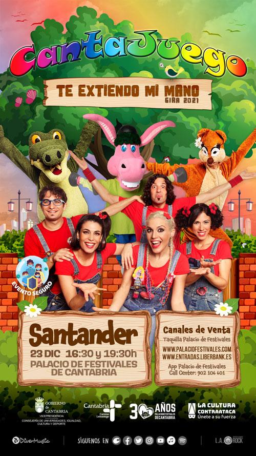 CantaJuego en Santander el 23 de Diciembre