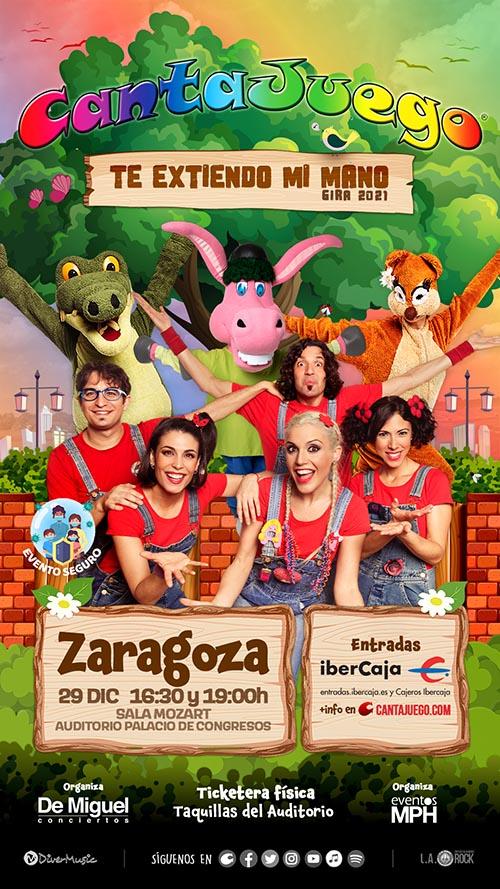 CantaJuego en Zaragoza el 29 de Diciembre