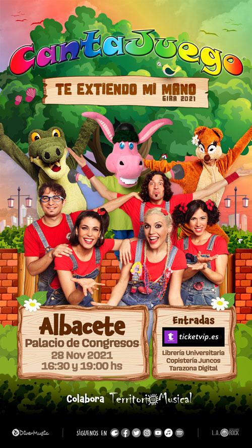 CantaJuego en Albacete el 28 de Noviembre